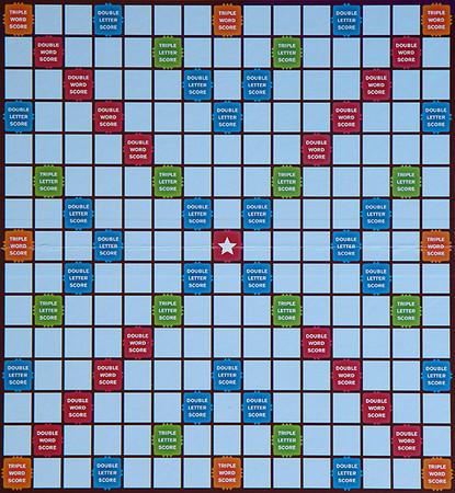 Blank Scrabble Board Scrabble Board
