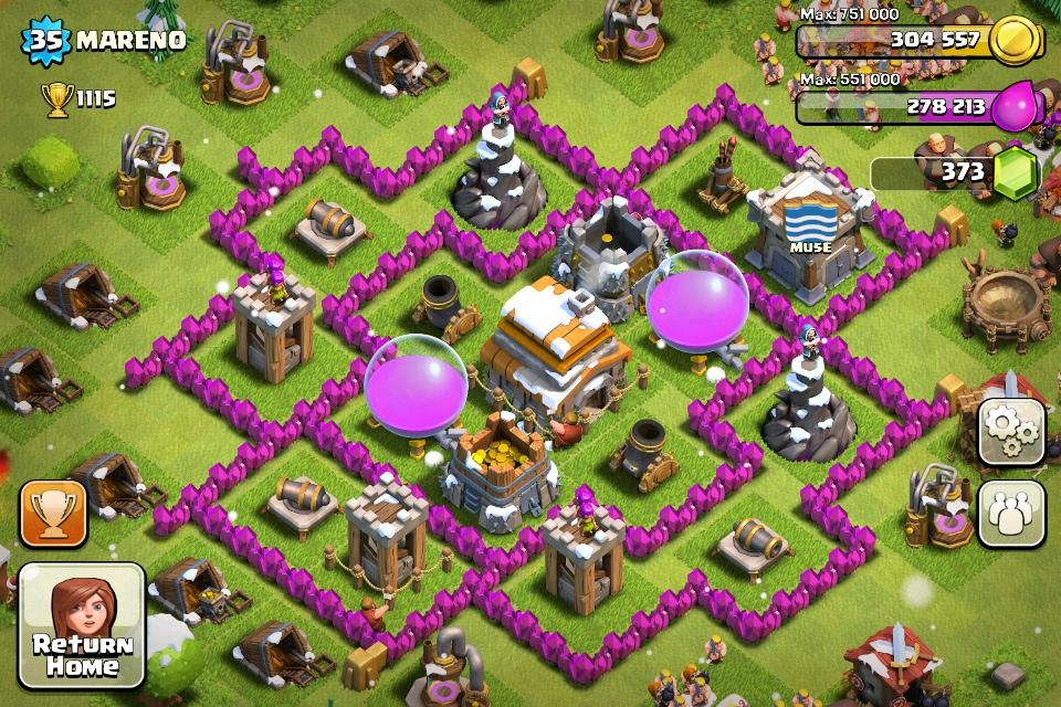 Clash Of Clans Unlimited Gems Modded Apk Android App Download | Apps ...