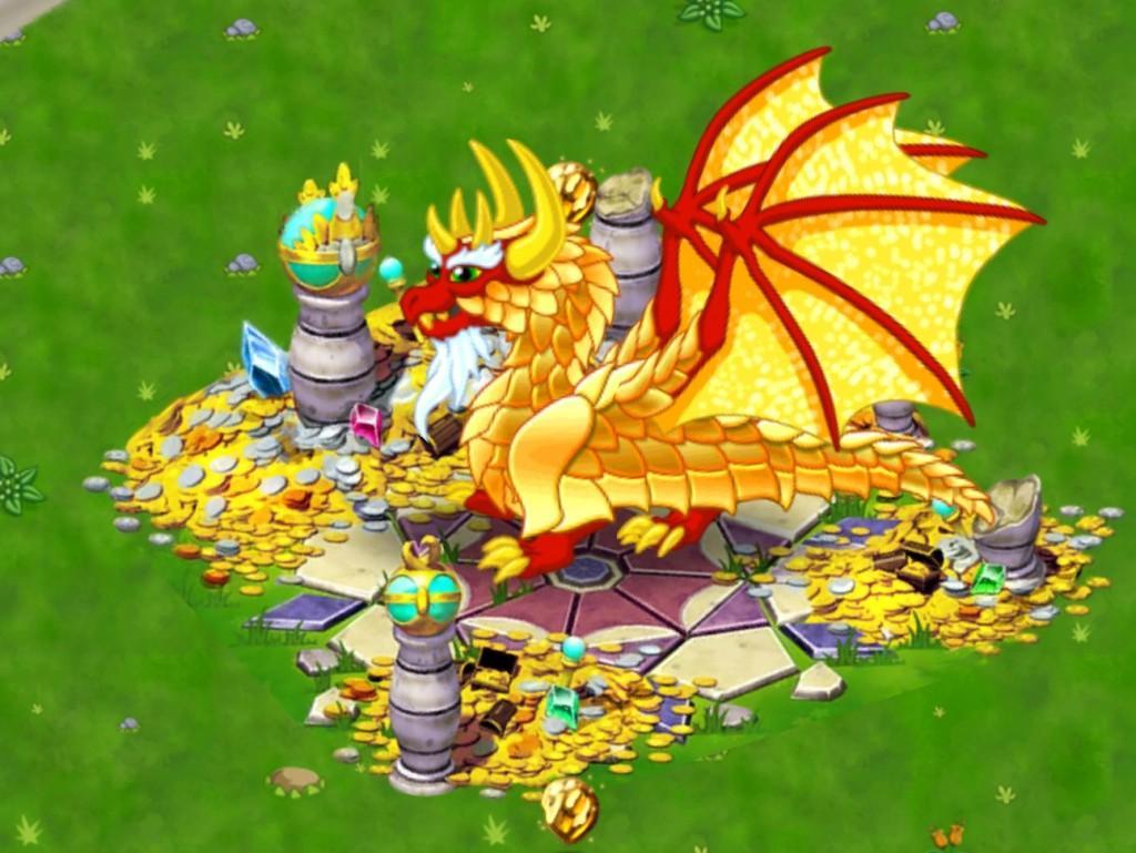 dragon vale gold dragon