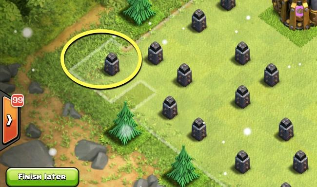 All Coc Christmas Trees.Farm The Most Gems By Increase The Obstacles Spawning Rate