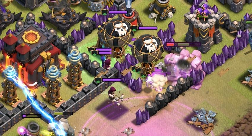 Figure 3: Clash of Clans Lính phòng thủ tốt nhất cho từng level Clan Castle khi đi War