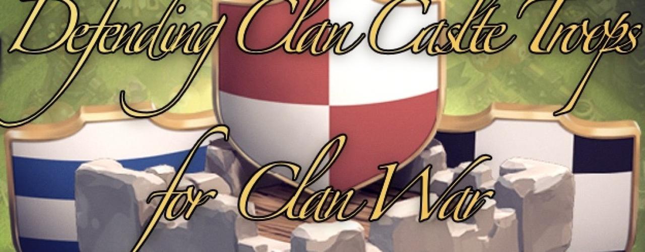 Figure 1: Clash of Clans Lính phòng thủ tốt nhất cho từng level Clan Castle khi đi War