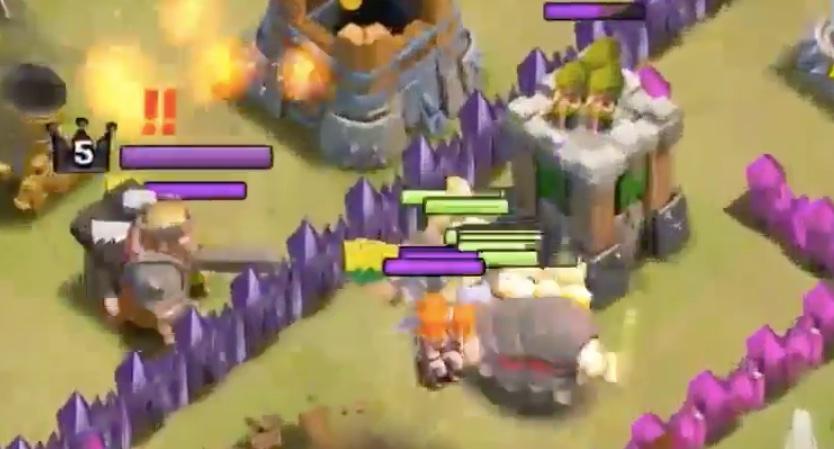 Figure 2: Clash of Clans Lính phòng thủ tốt nhất cho từng level Clan Castle khi đi War