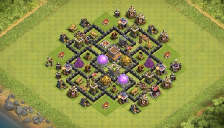 town hall 8 farming base 2017
